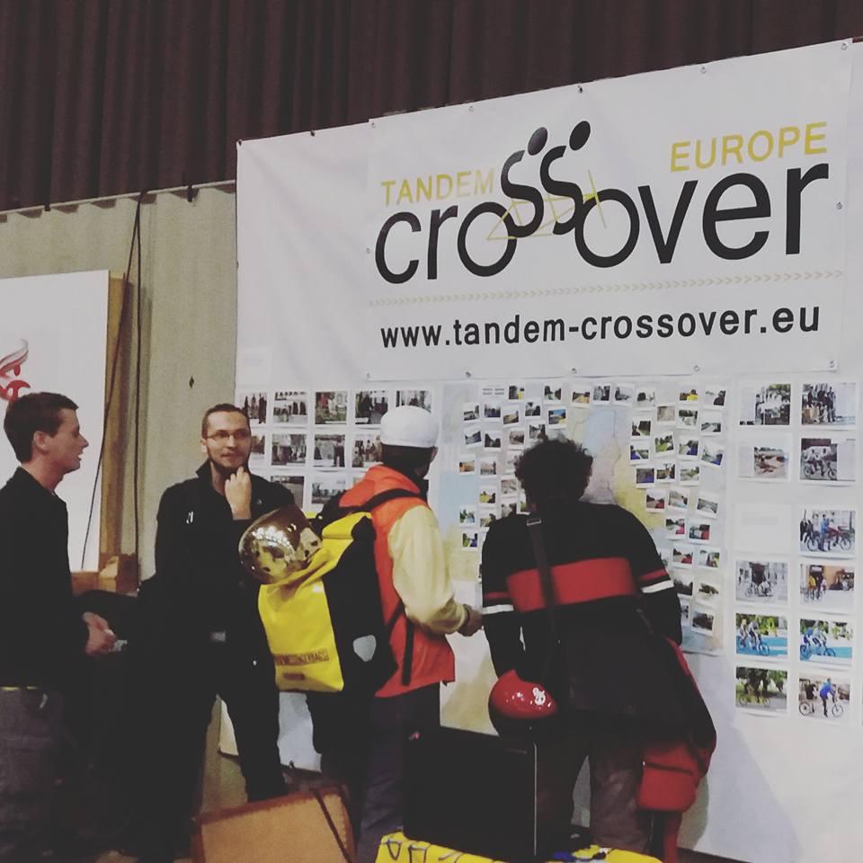 Crossover at Wiener Fahrradschau 2016