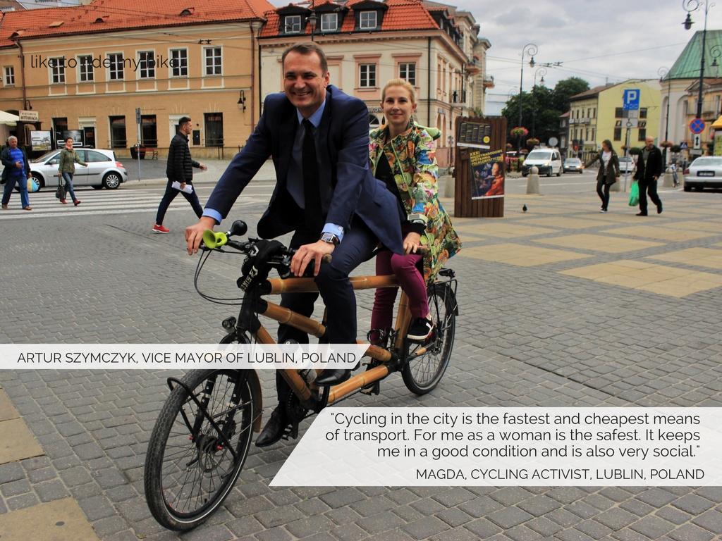 Artur Szymczyk, Vice Mayor of Lublin