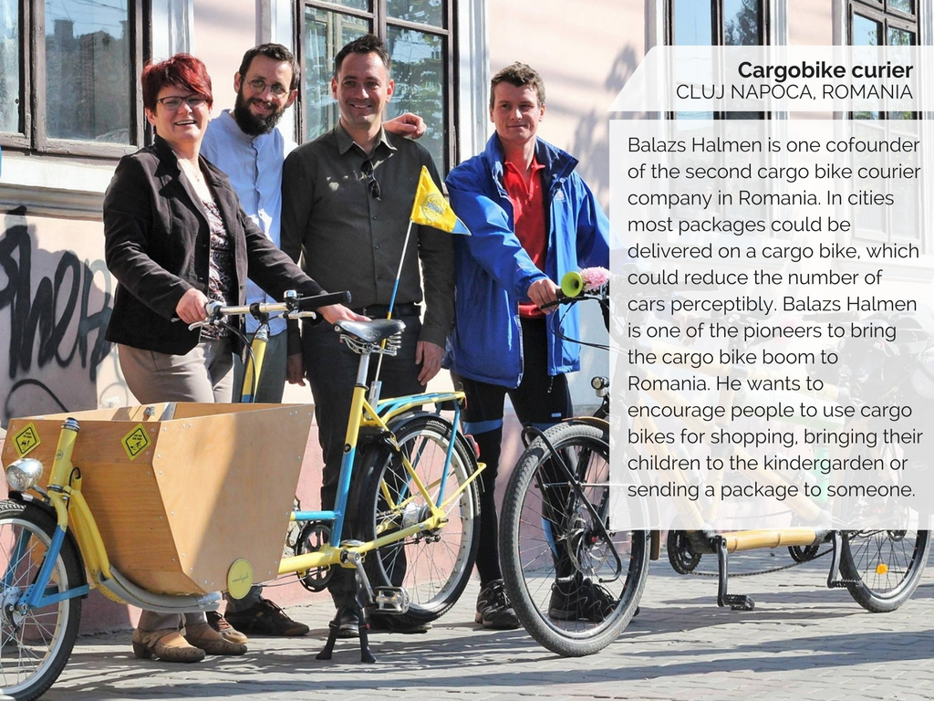 Cargo Bike Curier Cluj, Romania